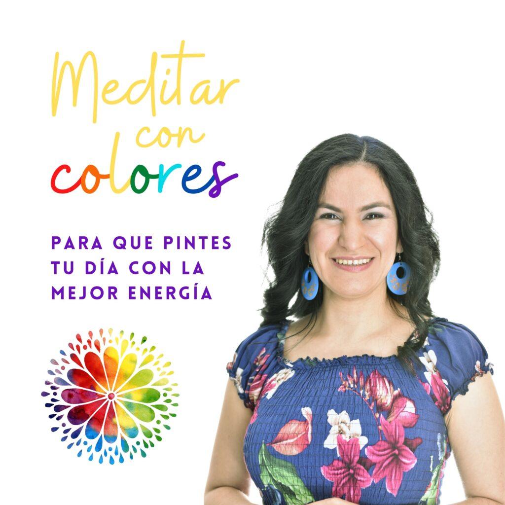 Podcast Meditar con Colores arte